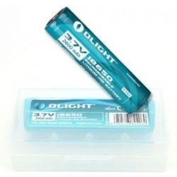 R18650 2Pk 3.7V 2600mAh Rechargeable battery