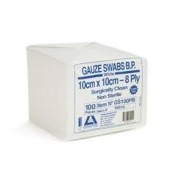 Gauze Swabs10cm x 10cm(100) per pack