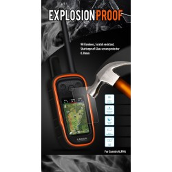 Alpha EXPLOSION Proof Tempered Glass Screen Protector